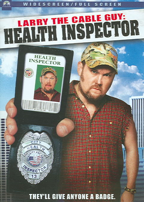 LARRY THE CABLE GUY:HEALTH INSPECTOR BY LARRY THE CABLE GUY (DVD)