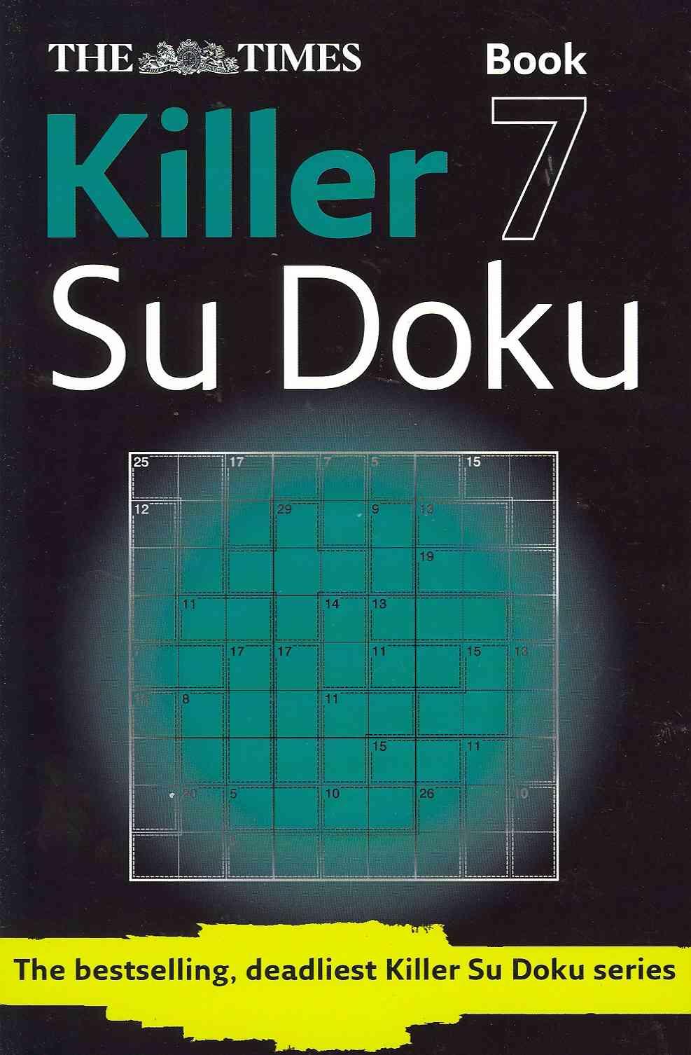 Killer Su Doku Book 7 By Times Books (COR)