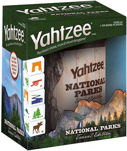 Yahtzee : National Parks Travel Edition By Usaopoly (COR)